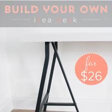 Build Your Own Ikea Desk