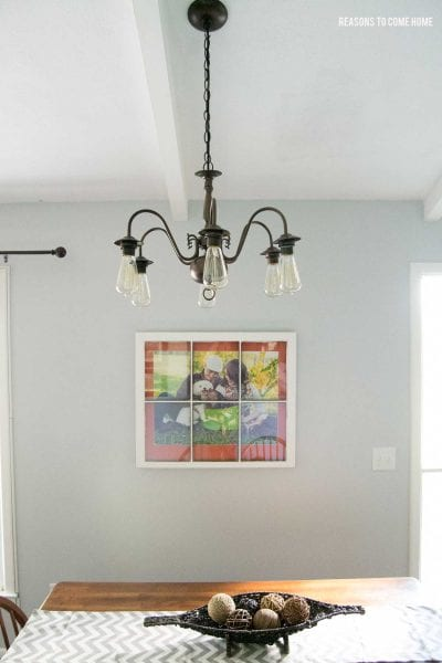 diy brass chandelier makeover