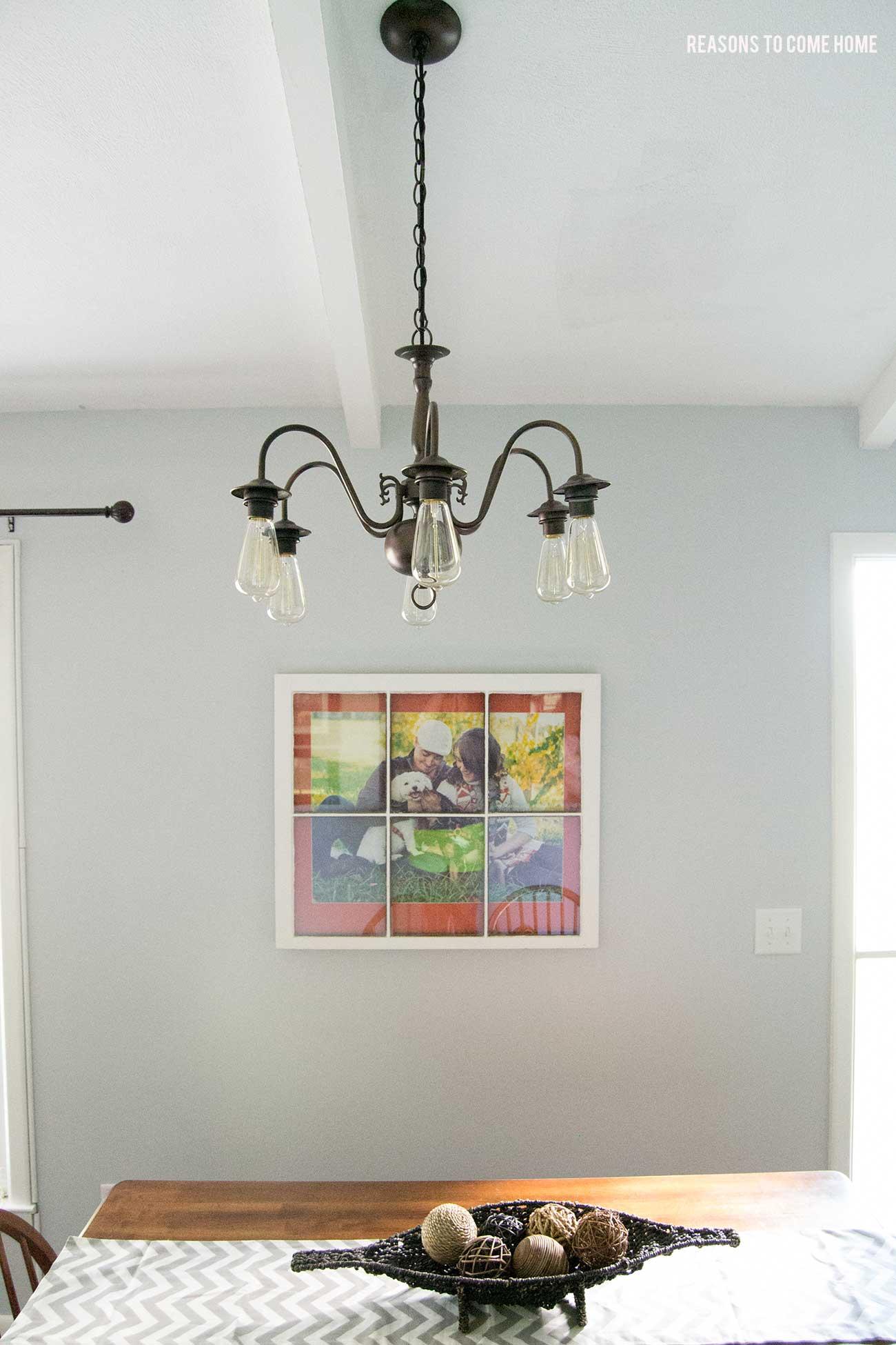 Diy sputnik chandelier - Diy Brass Chandelier Makeover
