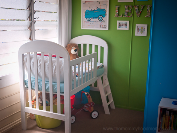 Remodelaholic Amazing DIY Loft Beds For Kids - Convert crib into toddler bed