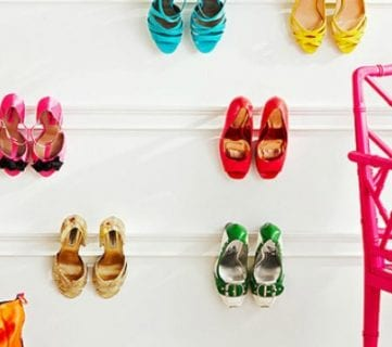 6 Creative Places To Store Shoes