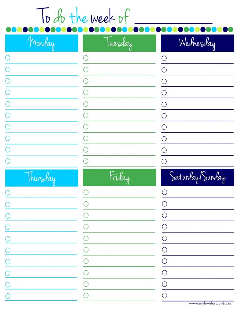 Remodelaholic | 36 Free Printable Organizers for a ...
