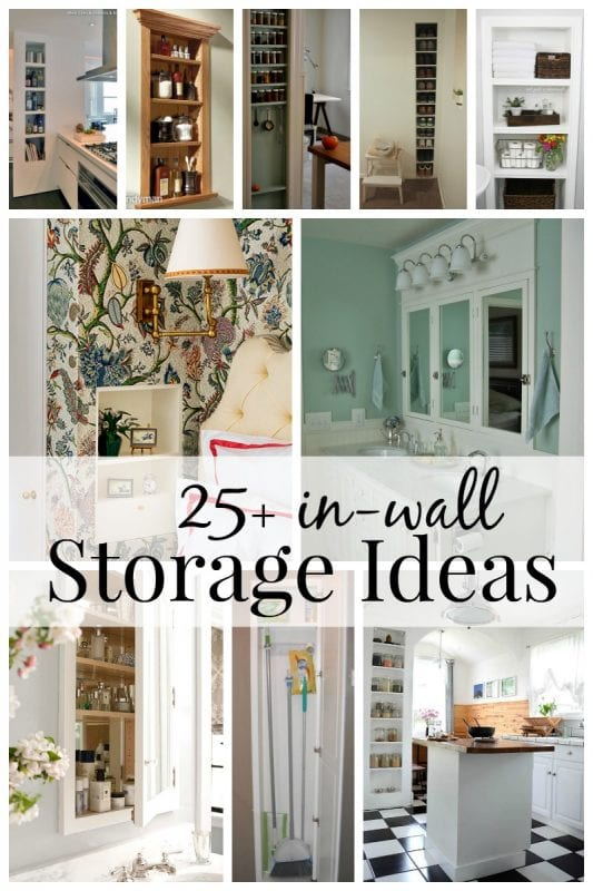 Gentil 25+ In Wall Storage Ideas Via Remodelaholic.com