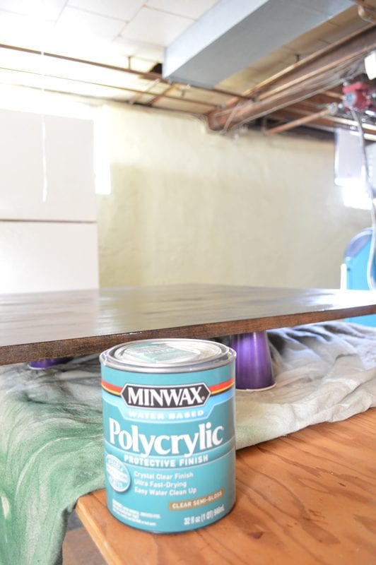 Step by step tutorial for building your own designer coffee table, Plaster and Disaster featured on Remodelaholic.com