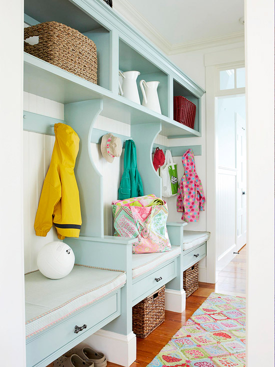 Mudroom Storage Bench