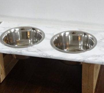 How to Build a Pet Feeder — Choose Rustic or Modern Style!