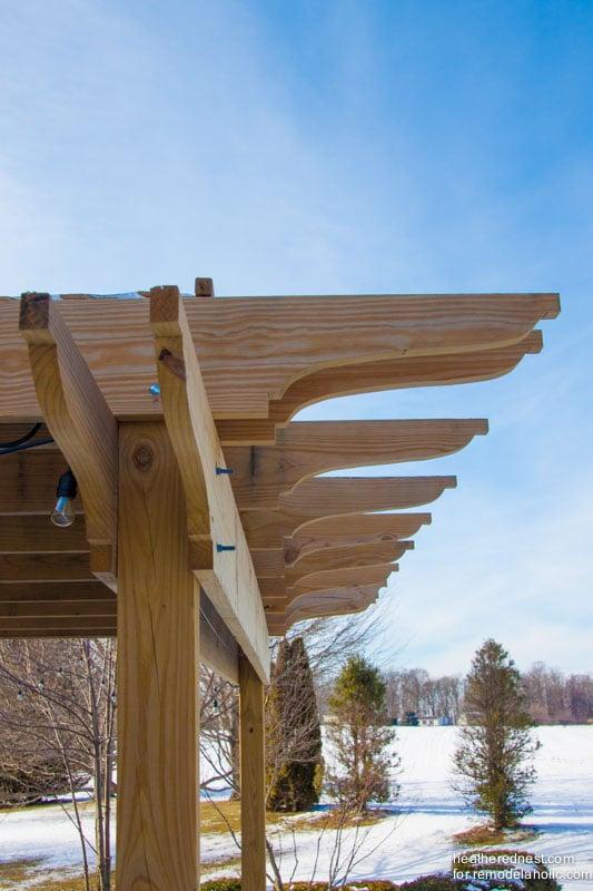 Diy pergola tutorial how to build your own backyard shade for Design your own pergola