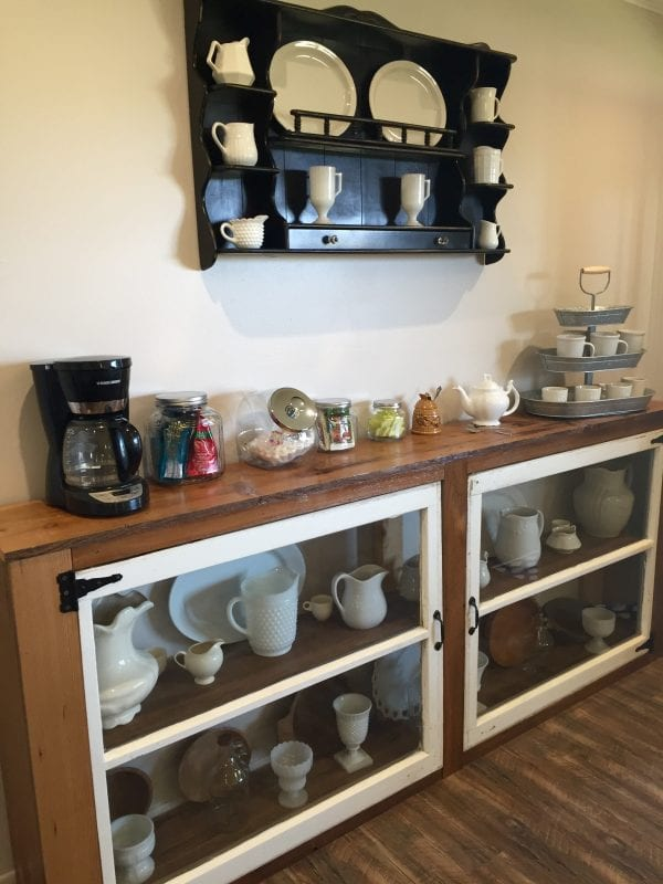 Remodelaholic How To Build A Buffet From Old Windows And Reclaimed Wood