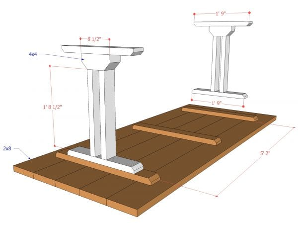how to build a dining room table frame building base bench plans diy seat