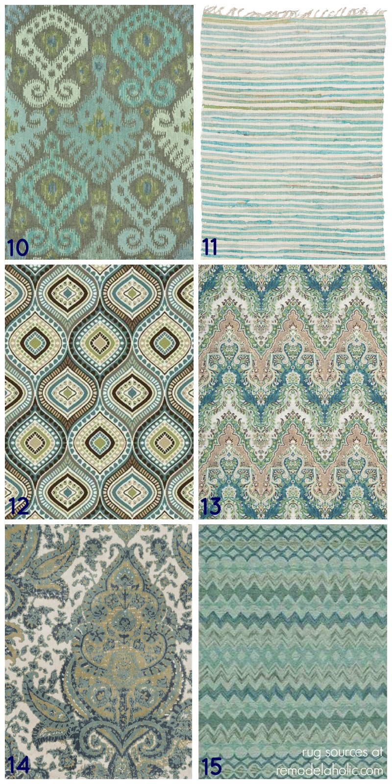 20 Green And Blue Area Rugs You Ll Love
