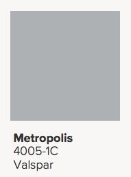 Valspar Metropolis Paint Color