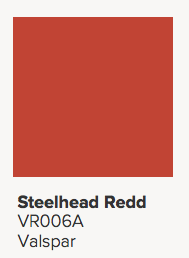 Valspar Steelhead Redd Paint Color