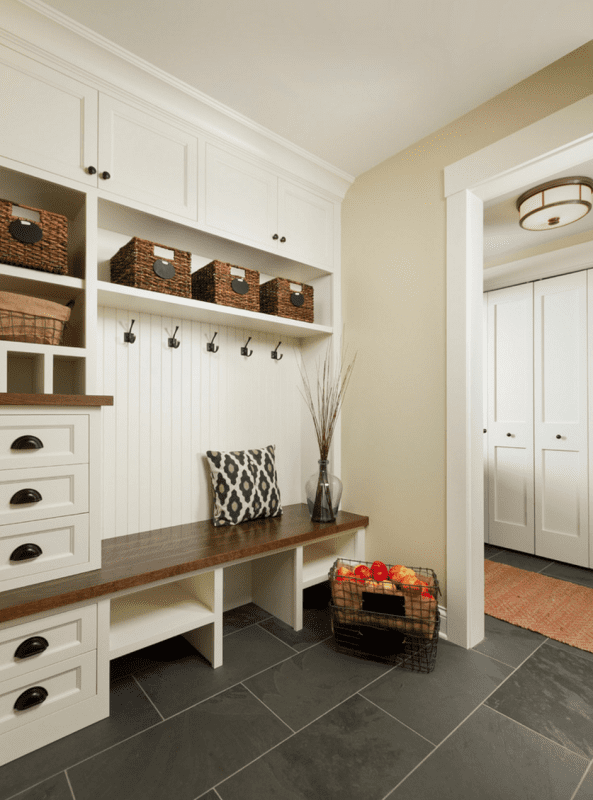 Houzz Large Foyer : Remodelaholic inspiring mudrooms and entryways