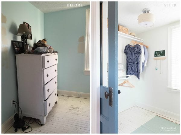Before, A Neglected Corner. After, A Great Closet! Create A Beautiful  Boutique