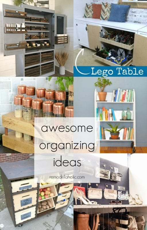 These organizing ideas are awesome! Some for every problem area! @Remodelaholic