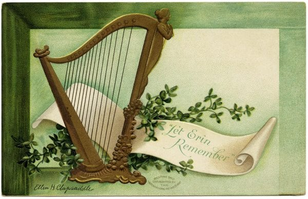 Printable St. Patrick's Day decorations from the Old Design Shop via Remodelaholic