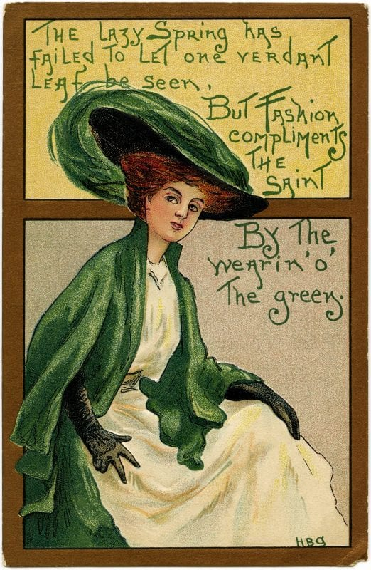 St. Patrick's Day from the Old Design Shop via Remodelaholic
