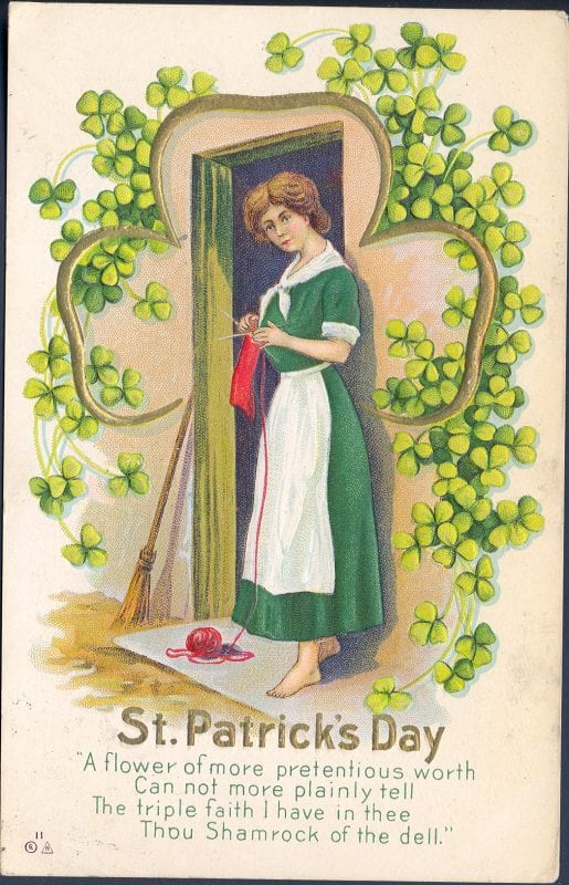 St. Patrick's Day decorations from UpNorth Memories via Remodelaholic