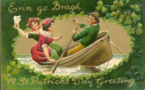 Vintage St. Patrick's Day images for decoration from UpNorth Memories via Remodelaholic
