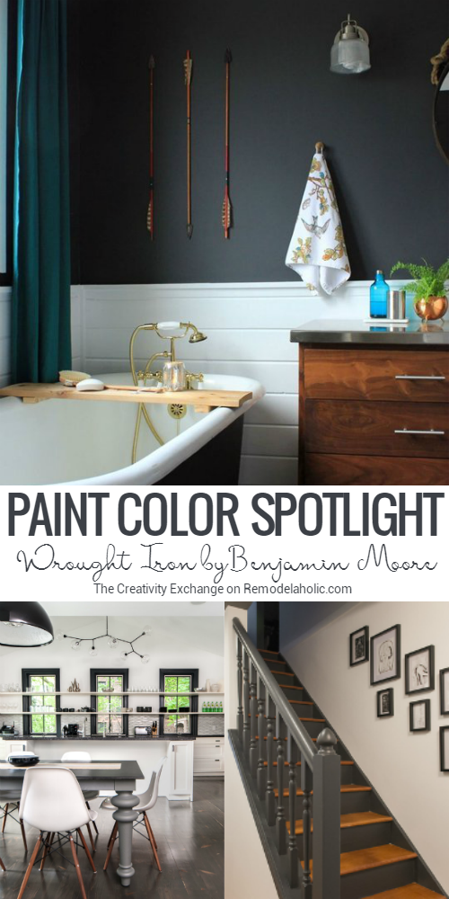If Youu0027ve Been Searching For The Perfect Black Paint Color, Benjamin Moore  Wrought