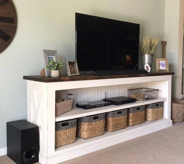Farmhouse Console Table Built By Reader Emily