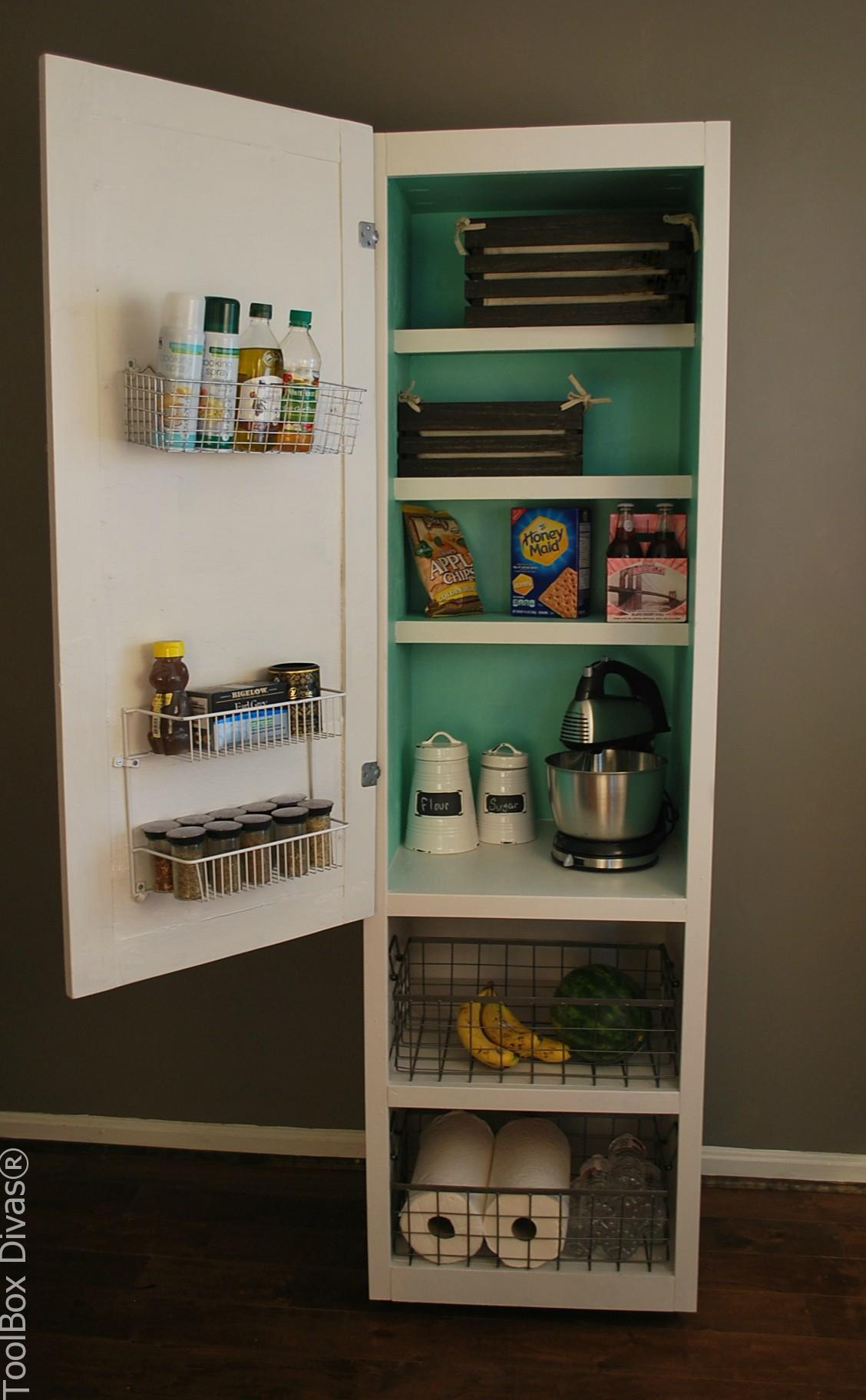 Narrow Kitchen Storage Ideas