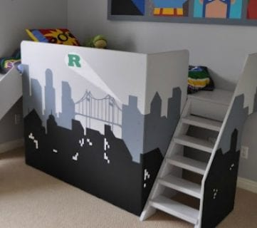 15 Amazing DIY Loft Beds for Kids