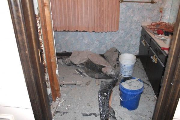 master bathroom renovation Construction2Style on @Remodelaholic (2)