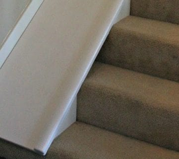 DIY Stair Slide, or How to Add a Slide to Your Stairs