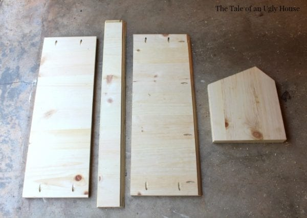 Step by step Tutorial for kids toy cubby by Tale of an Ugly House featured on @Remodelaholic