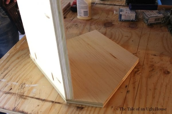 DIY toy cubby for kids room by Tale of an Ugly House featured on @Remodelaholic