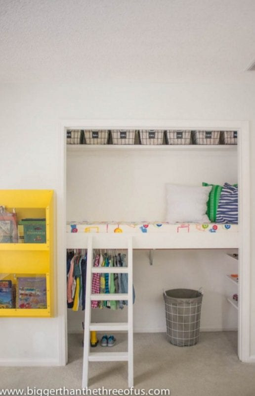 15 Amazing DIY Loft Beds for Kids