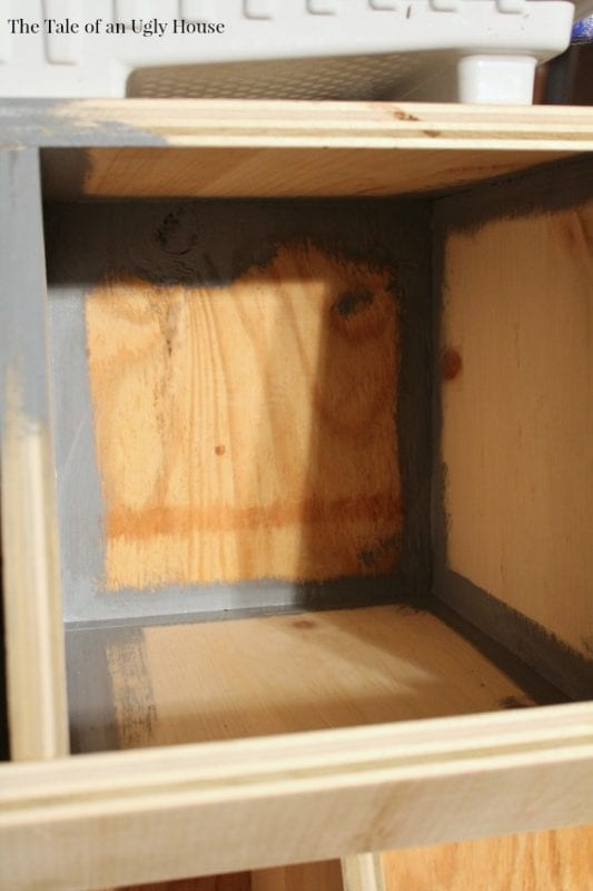 Complete tutorial for building a toy cubby by Tale of an Ugly House featured on @Remodelaholic