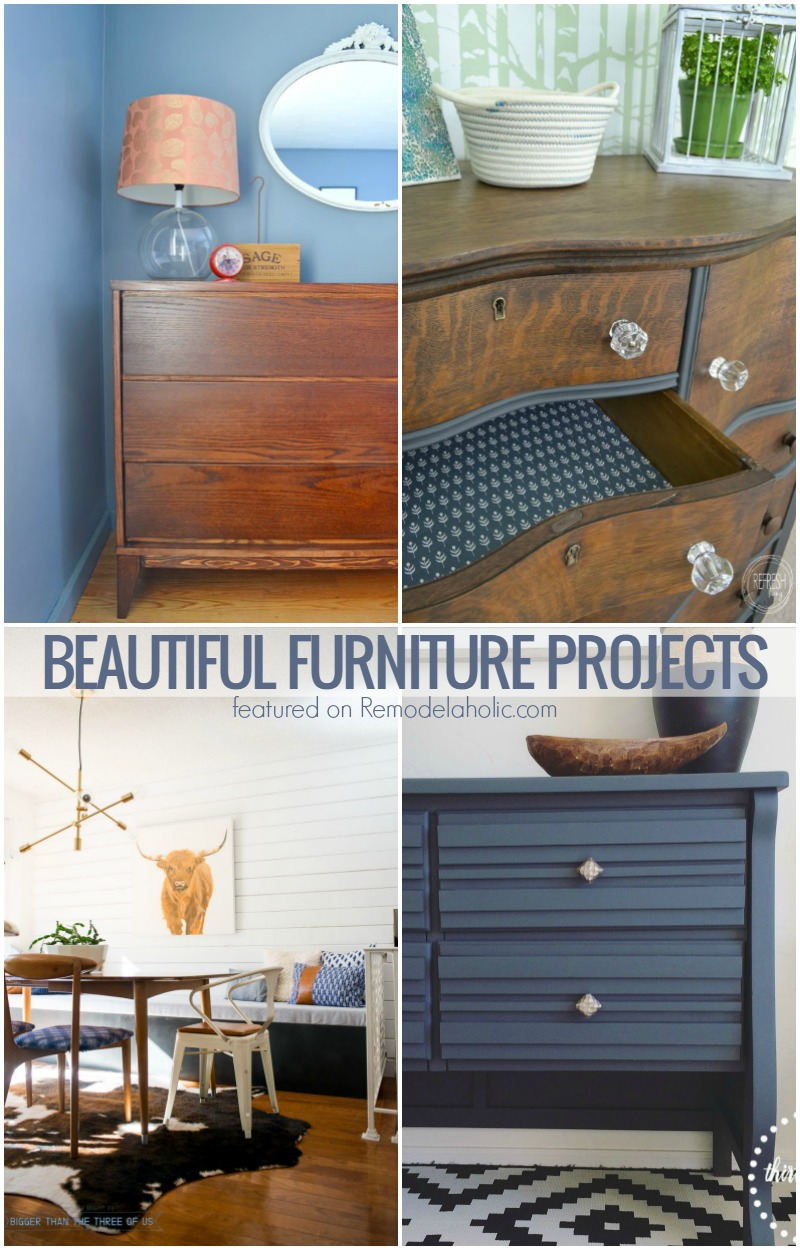 Remodelaholic | 6 Beautiful Furniture DIYs + March Link Party