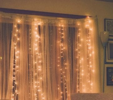 36 Clever String Light Ideas