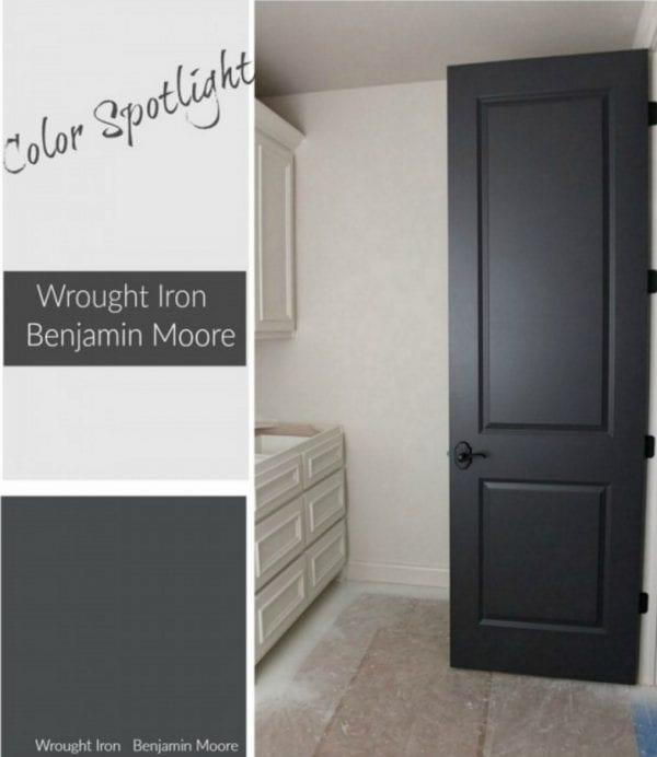 Color Spotlight Benjamin Moore Wrought Iron