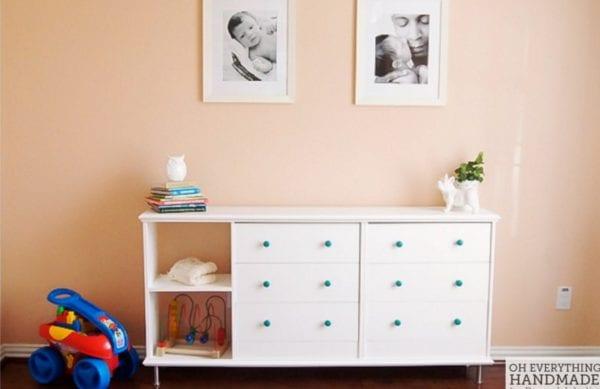 Double The Fun! IKEA Rast Dresser Hack