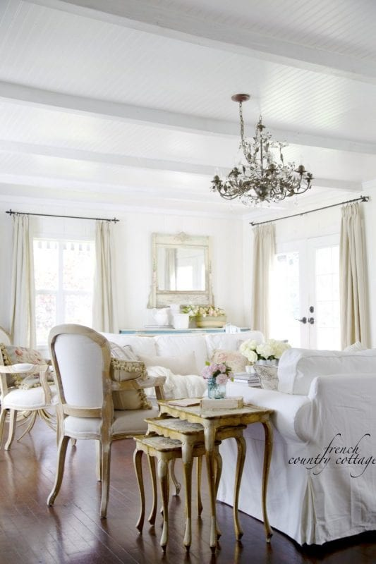 Remodelaholic Inspiration File Pretty Floral French Style