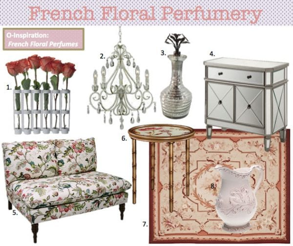 French Floral Decor Ideas from Overstock