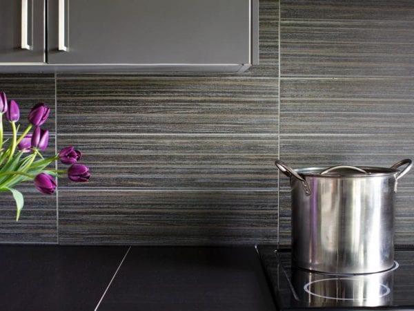 Gray Kitchen Tile Backsplash HGTV