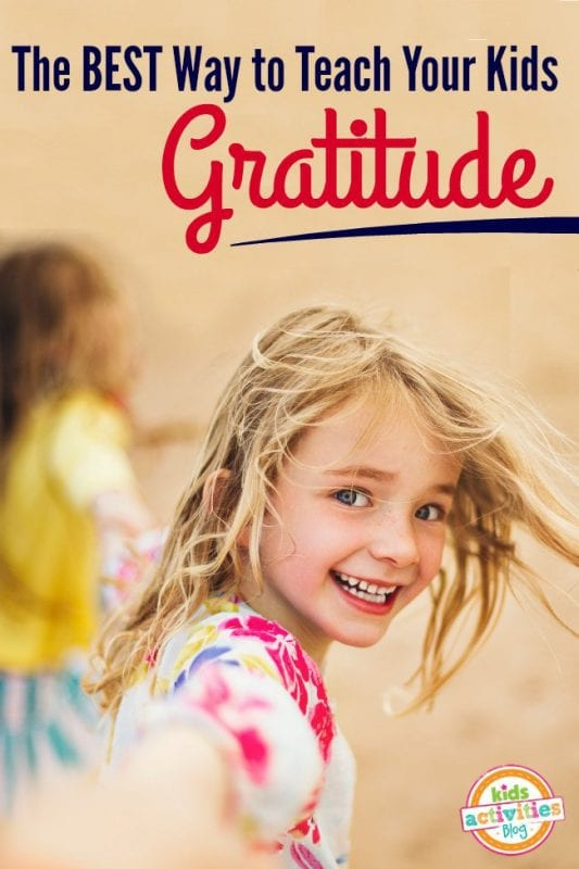 How to Teach Kids Gratitude, love this tradition! via Kids Activities Blog