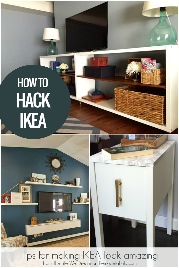 remodelaholic make ikea amazing ikea hack tips from an experienced hack er. Black Bedroom Furniture Sets. Home Design Ideas