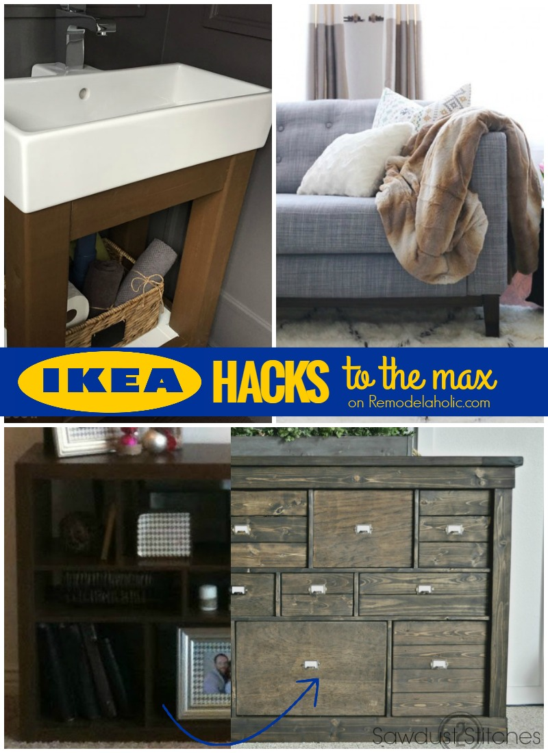 Remodelaholic It S Ikea Hacks To The Max Share Your Projects