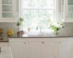Neutral Kitchen Backsplash Feature Image