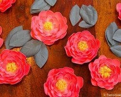 Paper Flower Garland Tutorial with Canon printer @remodelaholic-5770