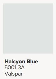 Valspar Halcyon Blue