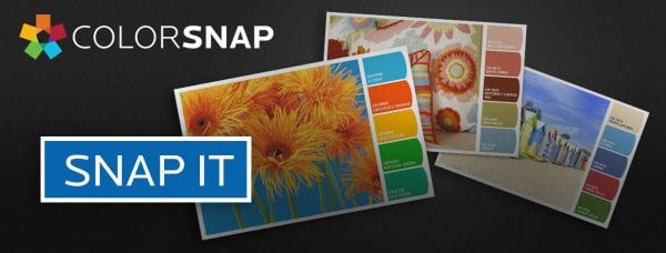Sherwin Williams Snap It! Color Choosing Tool