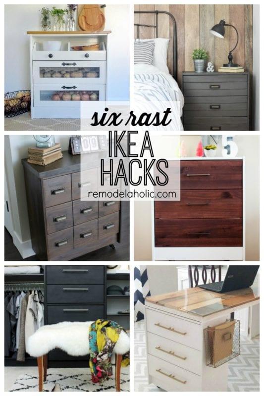 Six Rast Idea Hacks featured on Remodelaholic.com