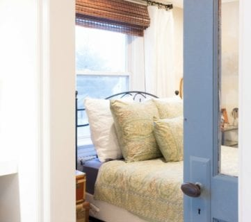A Vintage, Travel-Inspired Master Bedroom