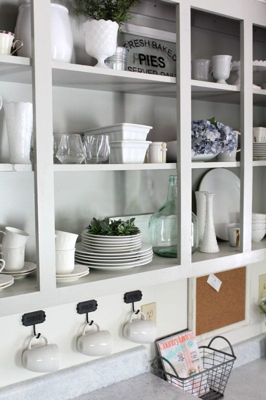 The Tale of an Ugly House kitchen spring home tour